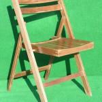 (Art.Nr. 3007) Holzklappstuhl, Buche braun, Buchensprossen