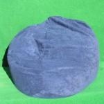 (Art.Nr. 3013) Sitzsack, Velours blau
